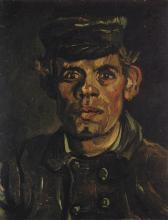 van Gogh, Ritratto di contadino | Portrait de paysan | Boerenportret | Peasant portrait