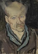 van Gogh, Ritratto di un uomo   Portret van een man   Portrait d'un homme   Portrait of a man
