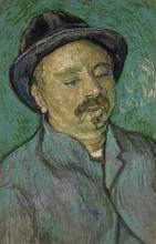 van Gogh, Ritratto di un uomo con un occhio solo | Portret van een man met één oog | Portrait d'un homme avec un seul œil | Portrait of a one-eyed man