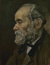 van Gogh, Ritratto di un vecchio | Portret van een oude man | Portrait d'un vieil homme