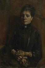 van Gogh, Ritratto di una donna | Portret van een vrouw | Portrait d'une femme | Portrait of a woman
