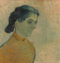 van Gogh, Ritratto di una giovane donna   Portret van een jonge vrouw   Portrait d'une jeune femme   Portrait of a young woman