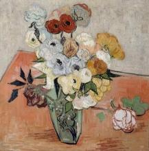 van Gogh, Rose e anemoni | Roses et anémones | Roses and anemones
