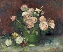 van Gogh, Rose e peonie   Rozen en pioenen   Roses et pivoines   Roses and peonies