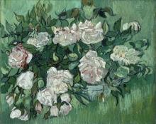 Vincent van Gogh, Rose rosa | Roses roses | Lyserøde roser | Pink roses