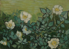 van Gogh, Rose selvatiche | Wilde rozen | Roses sauvages | Wild roses