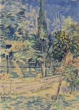 van Gogh, Scala nel giardino del manicomio | Trap in de tuin van de inrichting | Escalier dans le jardin de l'asile | Stairs in the Garden of the Asylum