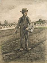 van Gogh, Seminatore con cestino   Zaaier met mand   Sower with basket