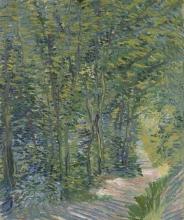 van Gogh, Sentiero nel bosco | Bospad | Sentier forestier | Path in the woods