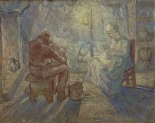 van Gogh, Sera (da Millet)   Avond (naar Millet)   Soir (d'après Millet)   Evening (after Millet)