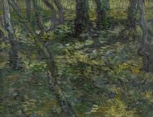 van Gogh, Sottobosco | Kreupelhout | Sous-bois | Undergrowth
