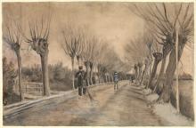 van Gogh, Strada a Etten | Route à Etten | Road in Etten