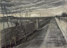 van Gogh, Strada di campagna | Landweg | Route de campagne | Country road