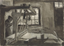 van Gogh, Tessitore | Wever | Tisserand | Weaver