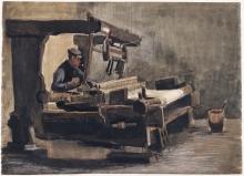 van Gogh, Tessitore   Wever   Tisserand   Weaver
