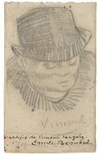van Gogh, Testa d'uomo con il cappello   Tête d'homme au chapeau   Head of a man with hat