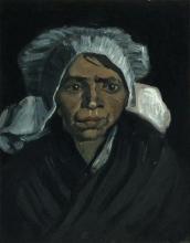 van Gogh, Testa di contadina | Tête de paysanne | Head of a peasant woman