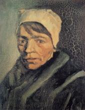 van Gogh, Testa di contadina | Tête de paysanne | Head of peasant woman