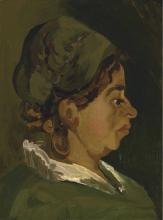 van Gogh, Testa di contadina: profilo destro | Hoofd van een boerin: juist profiel | Tête d'une paysanne: profil de droite | Head of a peasant woman: right profile