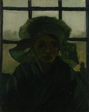 van Gogh, Testa di donna | Kop van een vrouw | Tête de femme | Head of a woman