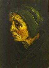 van Gogh, Testa di donna   Kop van een wrouw   Tête de femme   Head of a woman