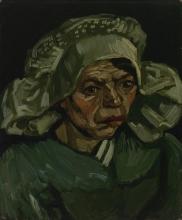 van Gogh, Testa di donna   Kop van een vrouw   Tête de femme   Head of a woman
