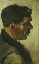 van Gogh, Testa di un uomo | Kop van een man | Tête d'homme | Head of a man