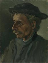 van Gogh, Testa di un uomo | Kop van een man | Tête d'un homme | Head of a man