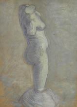 van Gogh, Torso di donna in gesso | Gipsen vrouwentorso | Torse de femme en plâtre | Plaster cast of a woman's torso