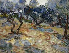 van Gogh, Ulivi | Oliviers | Olive trees