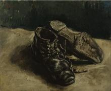 van Gogh, Un paio di scarpe | Une paire de chaussures | A pair of shoes