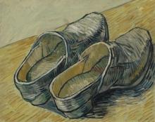 van Gogh, Un paio di zoccoli di cuoio | Een paar leren klompen | Une paire de sabots en cuir | A pair of leather clogs