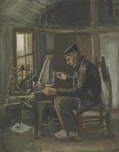 van Gogh, Uomo che avvolge il filo | Garenspoelende man | Homme enroulant du fil | Man winding yarn