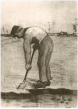 van Gogh, Uomo che vanga | Bêcheur | Digger