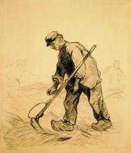 van Gogh, Uomo con la falce | Homme avec une faux | Man with a scynthe