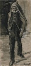 van Gogh, Uomo con un'ascia sulla spalla | Homme avec une hache sur son épaule | Man with an axe on his shoulder
