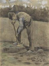 van Gogh, Vangatore | Spitter | Bêcheur | Digger