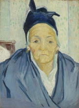 van Gogh, Vecchia arlesiana | Oude Arlésienne | Vielle Arlésienne | An old woman of Arles