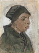 van Gogh, Vecchia contadina | Vieille paysanne | Old peasant woman