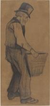 van Gogh, Vecchio che porta un secchio   Vieillard portant un seau   Old man carrying a bucket
