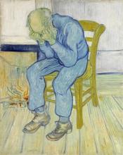 Vecchio che soffre (Sulla soglia dell'eternità) | Treurende oude man ('At Eternity's Gate') | Vieillard qui souffre ('At Eternity's Gate') | Sorrowing old man ('At Eternity's Gate')