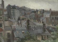 van Gogh, Veduta dallo studio di Vincent | Gezicht vanuit Vincents atelier | Vue de l'atelier de Vincent | View from the Vincent's studio