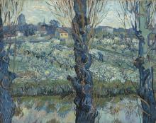 van Gogh, Veduta di Arles | Vue d'Arles | Blick auf Arles | View of Arles