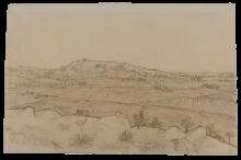 Vincent van Gogh, Veduta di La Crau | Vue de La Crau | Ansicht der Crau | View of La Crau