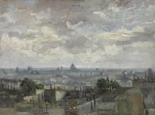 van Gogh, Veduta di Parigi | Gezicht op Parijs | Vue de Paris | View of Paris