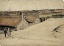 van Gogh, Veduta di Scheveningen   Gezicht op Scheveningen   Vue de Scheveningen   View of Scheveningen