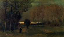van Gogh, Verso sera   Tegen de avond   Vers le soir   Toward evening