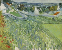 van Gogh, Vigneti ad Auvers | Vignobles à Auvers | Vineyards at Auvers