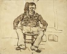 van Gogh, Zuavo seduto | Zittende zoeaaf | Zouave assis | Seated Zouave