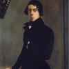 Théodore Chassériau, Autoritratto a 16 anni, 1835, Olio su tela, cm. 99 x 82, Musée du Louvre, Paris